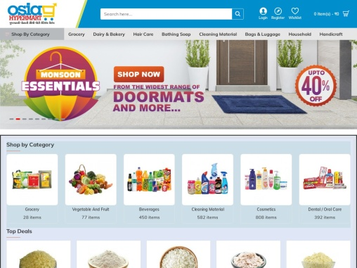 Where can I get the best online deals for all grocery and daily essential needs?