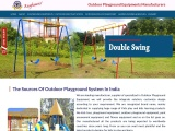 Outdoor Playground Equipment in Ahmedabad, Supplier of Outdoor Playground Equipments in Gujarat