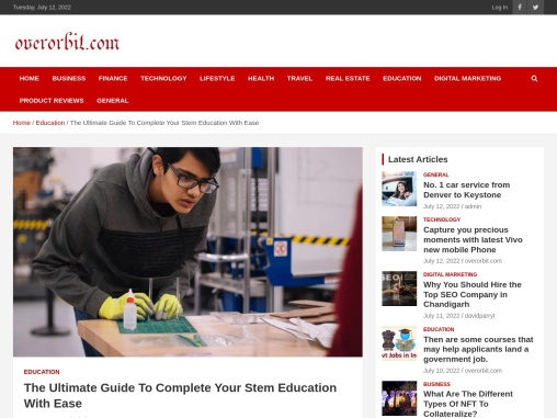 The Ultimate Guide To Complete Your Stem Education With Ease