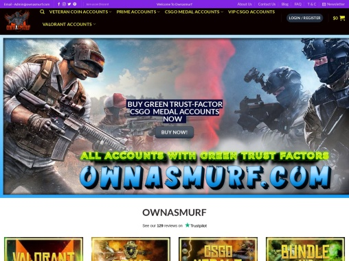Buy CSGO Smurf Prime Accounts at OwnASmurf