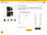 E Juice Box Packaging Services