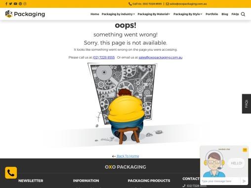 Custom Window Boxes – OXO Packaging AU