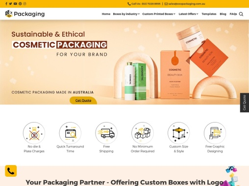 Custom Cigarette Packaging – OXO Packaging AU