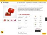 Custom Macaron Packaging – OXO Packaging AU