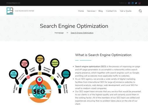 The Best SEO Service Provider   P9 Digital Marketing Agency
