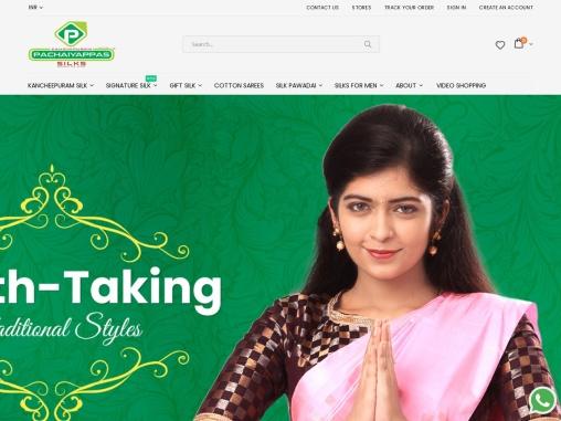 Kanchipuram Pure Silk Sarees Online | Pattu Sarees Online