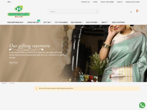 Golden Zari Work & Bavanji Floral Vine Design – Silk sarees