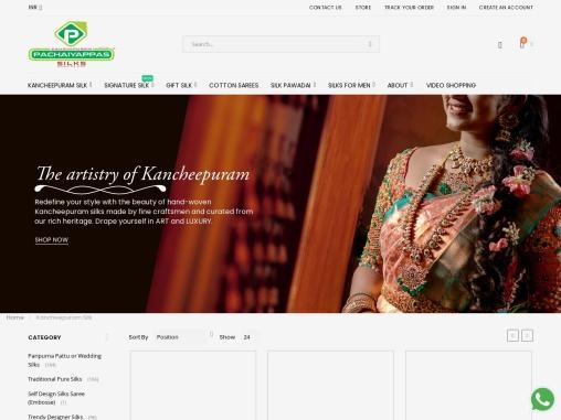 Kancheepuram Silks   Kancheepuram Silk Sarees