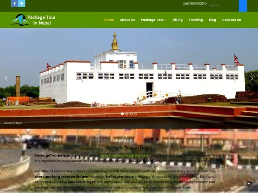 Package Tour in Nepal | Nepal Tour Operator