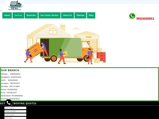 PACKERS AND MOVERS IN KOLKATA – 9051313896