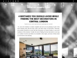 Finding the Best Decorators in Central London