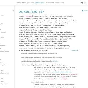pandas.read_csv — pandas 1.1.3 documentation