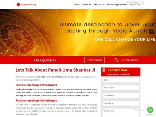 Best Indian  psychic in Netherlands