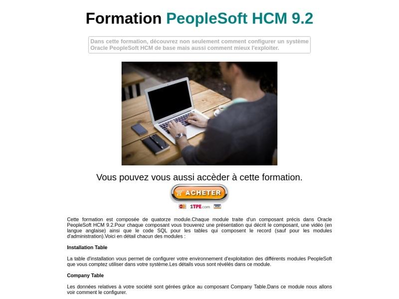 peoplesoft hcm 9.2