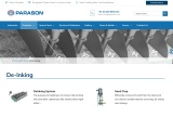 De-Inking System for Pulp & Paper Industry | Parason
