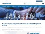 Pressurized Hot Disperser Unit – To Improve Paper Quality | Parason