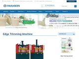 Edge Trimming Machine for Paper Industry | Parason
