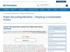 Hydraulic HeadBox for Paper Mill