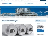 Alloy Cast Iron Dryer for Paper Mills | Parason