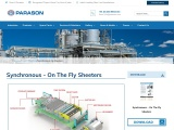 Synchronous – On The Fly Sheeters for Paper Mill | Parason