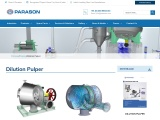 Dilution Pulper for Paper Pulp Mill Machinery | Parason