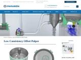 Low Consistency Offset Pulper – Pulping Equipment | Parason