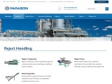Reject Handling System for Paper & Pulp Mills | Parason
