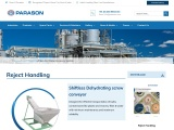 Fiber And Water Recovery System for Paper Mills | Parason