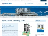 Reject Screen – Washing Cycle for Pulp & Paper Mill | Parason