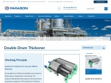 Double Drum Thickener for Pulp & Paper Mill | Parason