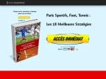 PARIS SPORTIFS LES 18 MEILLEURES STRATEGIES
