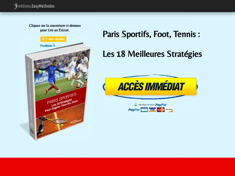 paris sportifs: methodes pour gagner +686% au foot