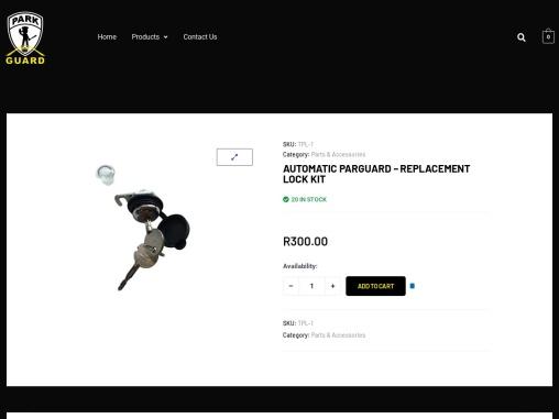 Automatic Parkguard – Replacement Lock Kit