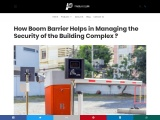 How Boom Barrier Helps in Managing the Security of the Building Complex ?