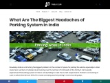 What Are The Biggest Headaches of Parking System In India