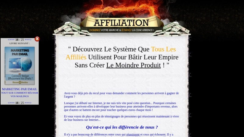 affiliation + drm