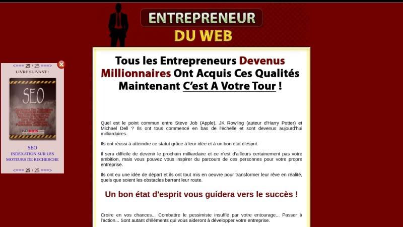 entrepreneur du web + drm