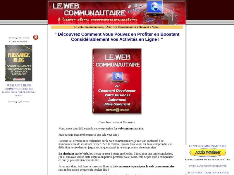 le web communautaire + drm