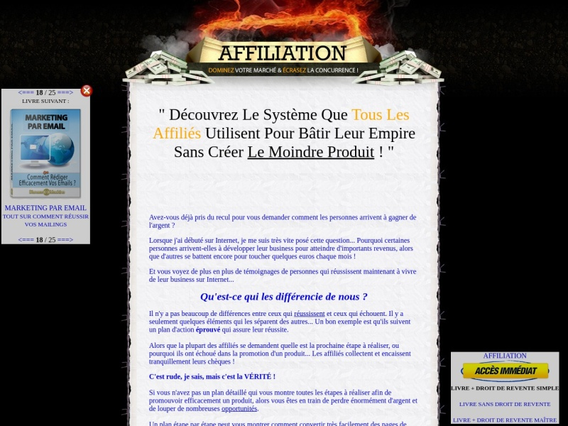 affiliation + drs