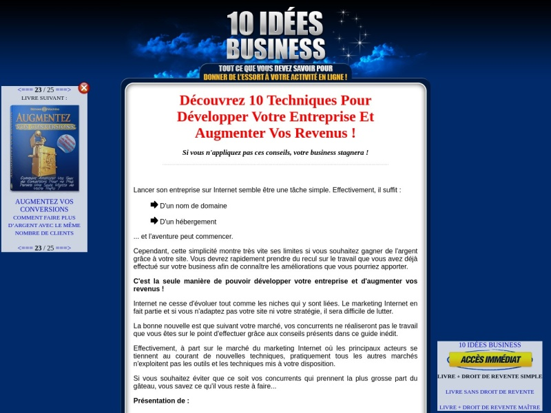 10 idees business  drs