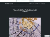 Where to sell your Gold for Cash in Las Vegas