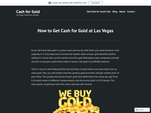 Sell Gold Fast and Get Cash for It