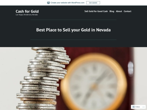 Where to Sell Gold fast in Nevada