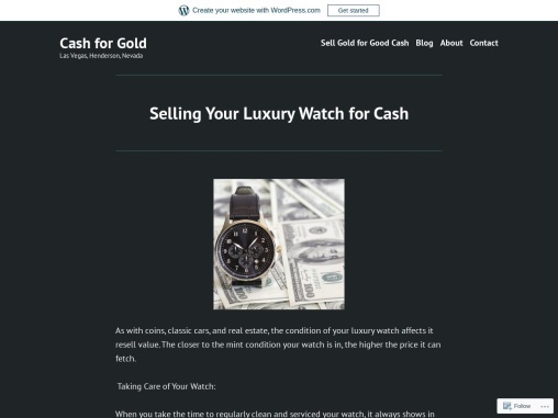 Selling Your Luxury Watch for Cash