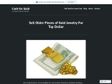 Sell Older pieces of gold jewelry for Top Dollar
