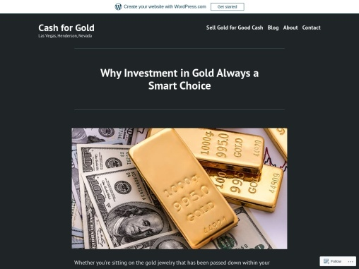 Why Investment in Gold Always a Smart Choice