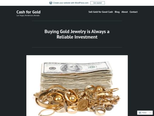 Buying Gold Jewelry is Always a Reliable Investment