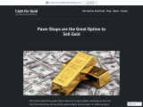 Pawn shops are the Great Option to Sell Gold
