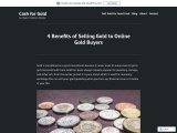 Benefits of Selling Gold to Online Gold Buyers