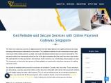 Online Payment Gateway Singapore for Singapore Merchants